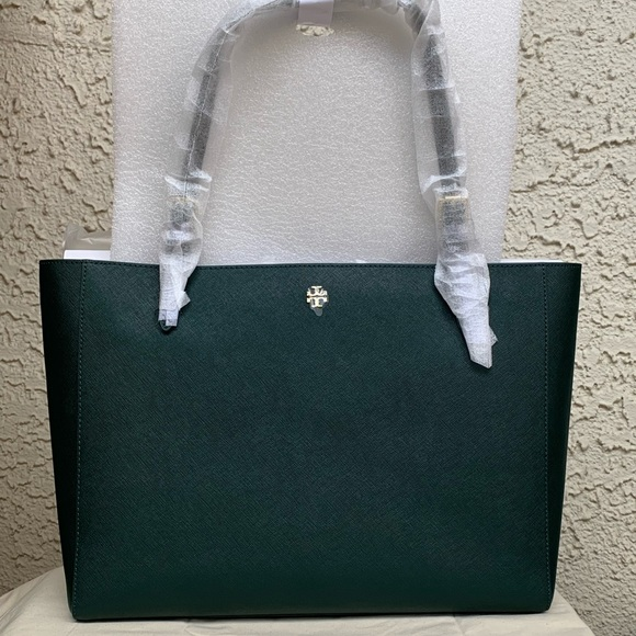 d01999f9eef7 Tory Burch large York buckle tote Emerson tote bag